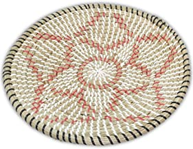 Ann Lee Design Rattan Woven Fruit Basket (D 13.75
