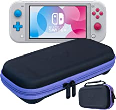 ButterFox Slim Compact Carrying Case for Nintendo Switch Lite with 19 Game and 2 Micro SD Card Holders, Storage for Switch Lite Accessories (Purple/Black)