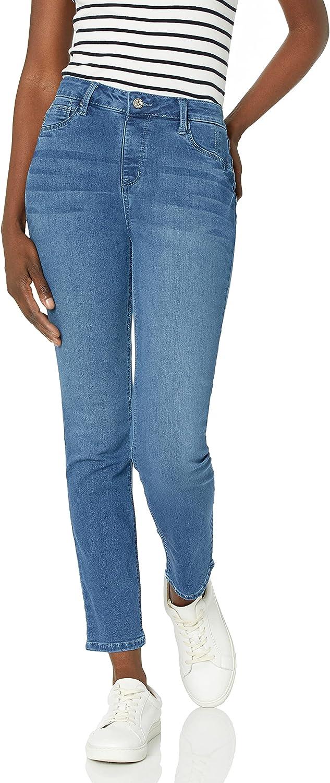 送料無料 一部地域を除く Laurie Felt Women's Silky Denim Jeans Slim 爆買い送料無料 Leg Pull-on