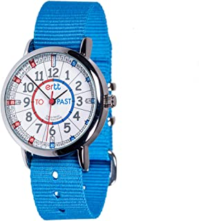 EasyRead time teacher ERW-RB-PT-B Watch Red/Blue Past To, Blue Strap