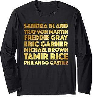 Say Their Names Shirt Black Lives Matter Tee Melanin