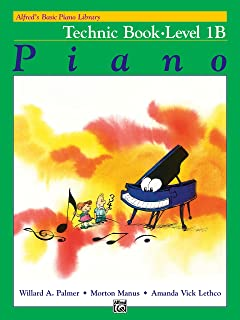 Alfred'S Basic Piano Library Technic Book 1b