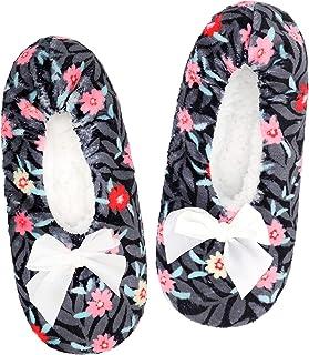 Slipper Socks for Women Grippers, Fuzzy Womens Slipper...