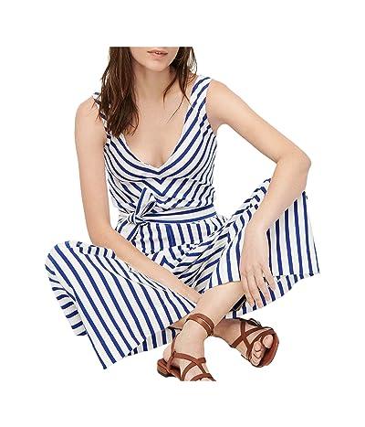 J.Crew Knit Jumpsuit in Stripe (Tammy Stripe Oxford White) Women
