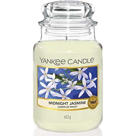Yankee Candle Candela profumata in giara grande | Gelsomino notturno | Durata Fino a 150 Ore