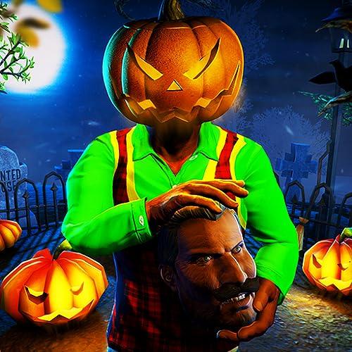 Five Nights Of Halloween: Hallo, gruselige Nachbarn, die gruseligen Spielen entkommen