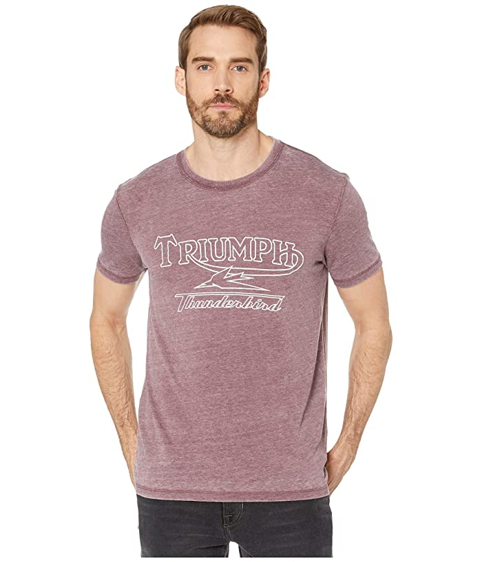 Lucky Brand  Triumph Thunderbird Tee (Port Royale) Mens Clothing