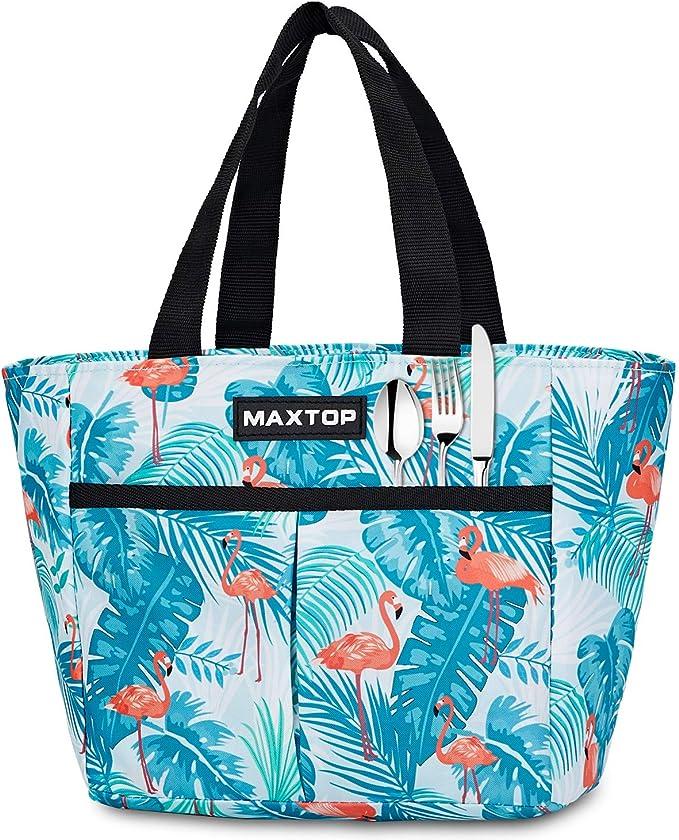 1047 opinioni per MAXTOP Borse per il pranzo da donna, borsa termica termica per ragazze con tasca