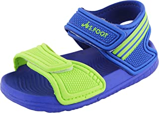 Yellow Bee Sandals for Boys, Blue