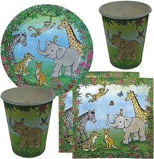 16 X Pastel Animaux Ferme Papier Tasses 270 ML Bébé Fête D/'Anniversaire Vaisselle Fournitures
