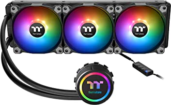 Thermaltake Water 3.0 ARGB Motherboard Sync Edition Intel/AMD 360 All-in-One Liquid Cooling System 3X 120mm High Efficiency Radiator CPU Cooler CL-W234-PL12SW-A - coolthings.us