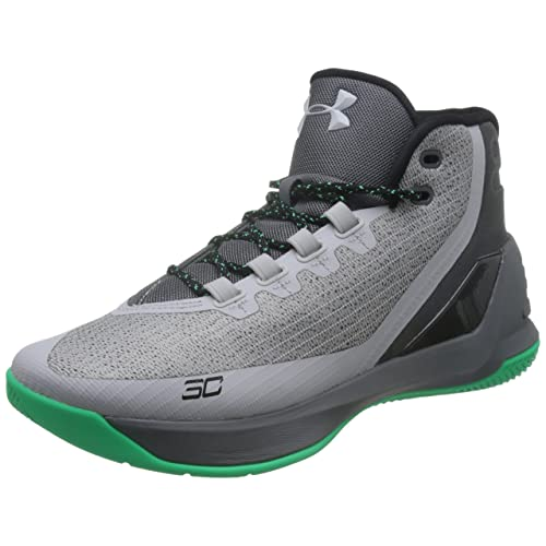 Under Armour Men s Curry 3 Basketball Shoe Green 658def48a