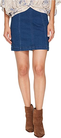 Free People - Denim Modern Femme Skirt