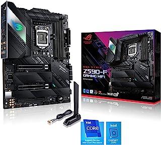 ASUS ROG STRIX Z590-F GAMING WIFI, Scheda madre Gaming Intel Z590 ATX, PCIe4.0, 14+2 fasi, tecnologie AI, WiFi 6E (802.11a...