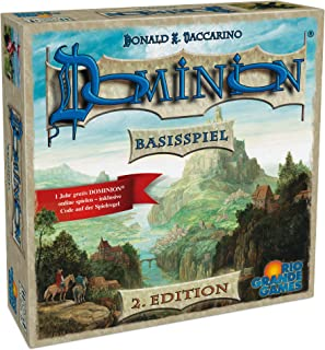 Rio Grande Games DOMINION庐 Base Game - Board Game for All The Family, Second Edition (German Language) 22501413