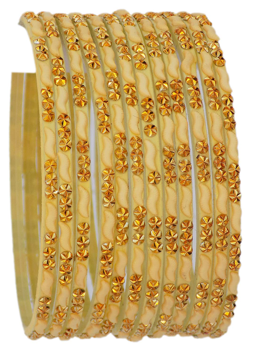 Details about  /Traditional Indian Ethnic2 Pc Bangle Women Bollywood Jewelry  2*8 BSG1446C
