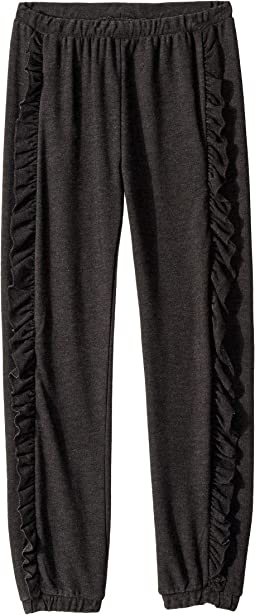 Super Soft Side Ruffle Joggers (Little Kids/Big Kids)