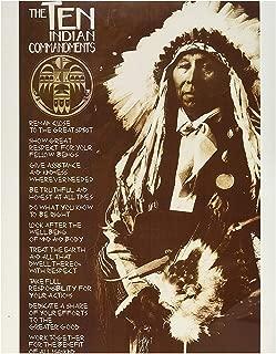 Best native american 10 commandments poster Reviews