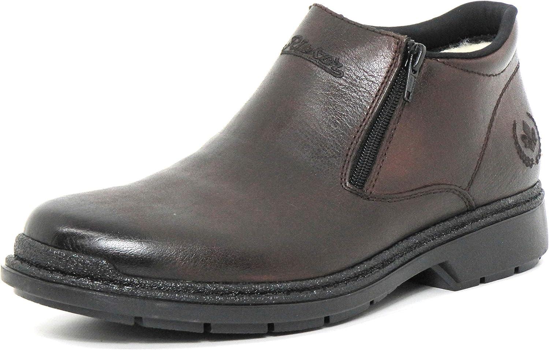 Rieker Men Boots Brown, (Havanna) B0792-25