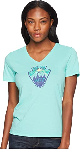 Life is Good - Take A Hike Cool Vee Tee