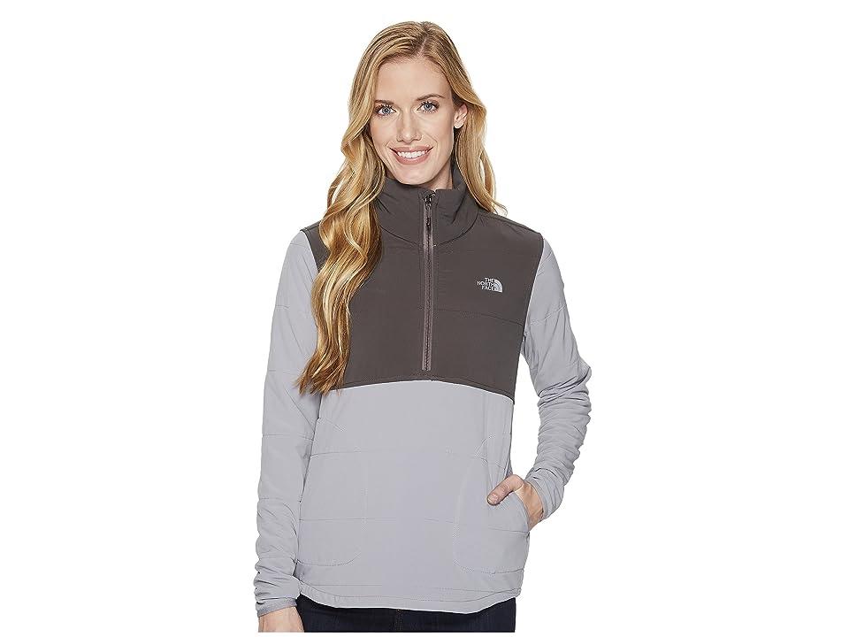 The North Face Mountain Sweatshirt 1/4 Zip (Mid Grey/Asphalt Grey) Women