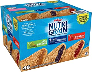 Kellogg's Nutri-Grain Variety Pack (1.3 oz., bar, 48 ct.) vevo