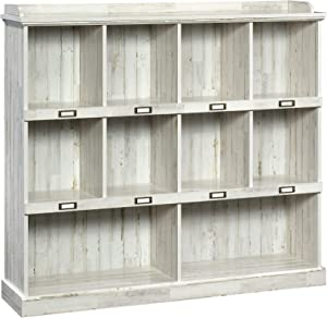 Sauder 423672 Barrister Lane Bookcase, White Plank Finish