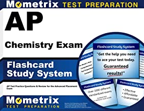 AP Chemistry Exam Flashcard Study System: AP Test Practice Questions & Review for the Advanced Placement Exam (Cards)