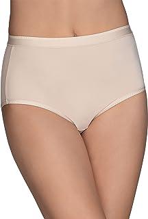 Vanity Fair Women's Comfort × 3 Collection Brief Panty 13163 Briefs (pack of 1)