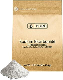 Sodium Bicarbonate (Baking Soda) (1 lb) Eco-Friendly Packaging, Food Grade
