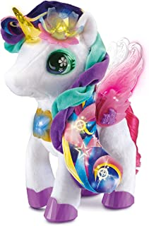 VTech Myla The Blush and Bloom Unicorn Toy, Soft Toy for Kids with Interactive Accessories, Musical Toy with Sounds and Si...