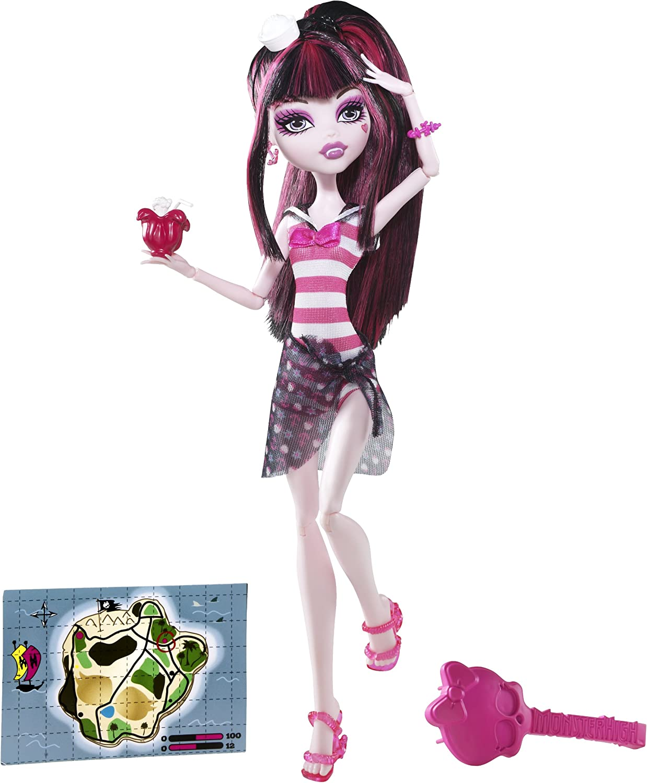 Monster High Skull Shores Draculaura Doll