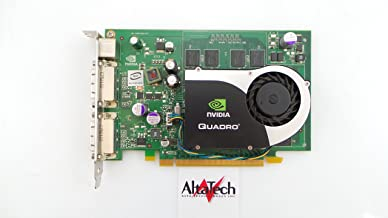 Dell RN034 New nVidia Quadro FX1700 FX 1700 512MB PCIE PCI-Express Dual DVI Video Card