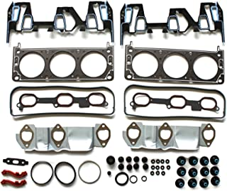 ECCPP Compatible fit for Head Gasket Set 05 06 07 08 09 Chevrolet Equinox Pontiac Torrent 3.4L Automotive Replacement Engine Head Gaskets Kit
