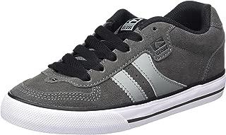 Encore 2 Skateboard Skate Shoes Trainers - Globe Encore 2 Shoes - Charcoal