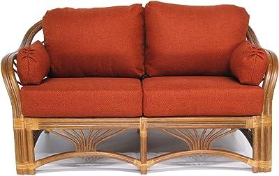 Brilliant Amazon Com Baxton Studio Dakota Leather Modern Loveseat Creativecarmelina Interior Chair Design Creativecarmelinacom