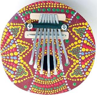 Piano pouce peint COCONUT (Mbira ou Kalimba)