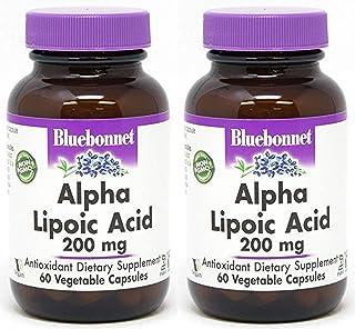 Alpha Lipoic Acid, 200 Mg, 60VC by Bluebonnet Nutrition (Pack of 2)