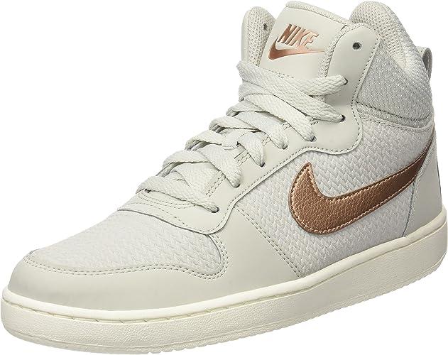 Nike W Court Borugh Mid Prem, Chaussures de Sport Femme