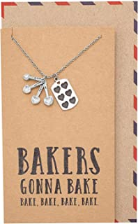 bakers gonna bake necklace
