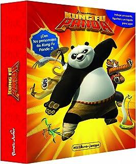 Kung Fu Panda. Mi libro-juego: Incluye un tablero, figuritas y un tapete para jugar (Dreamworks. Kung Fu Panda)