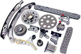 Inner Fire Engine Parts IFEP AFTERMARKET Timing Chain KIT, Compatible with Toyota 4RUNNER Tacoma 2.7L 2TRFE 2TR-FE DOHC, 2005-2012