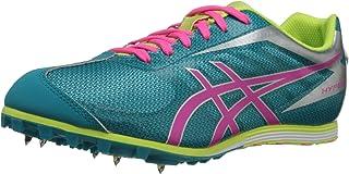 ASICS Women's Hyper LD 5 Track Shoe,Enamel Blue/Hot Pink/Sharp Green,7 M US