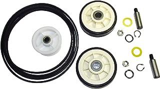 Maytag Dryer Roller Belt Pulley Repair Kit 33002535, 12001541, 6-3700340