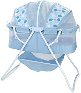 baby bassinet blue