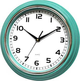 12 Inch Decorative Wall Clock Silent & Non Ticking - for Home, Kitchen, Office,Bathroom