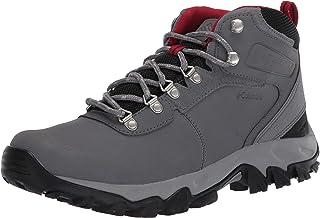 حذاء السير نيوتن ريدج بلس II من الجلد والشامواه ومقاوم للماء من كولومبيا