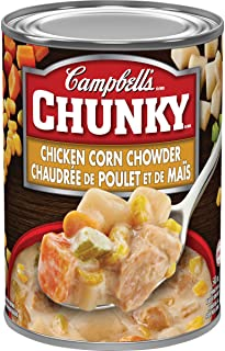 Campbell's Chunky Chicken Corn Chowder Soup, 540 mL