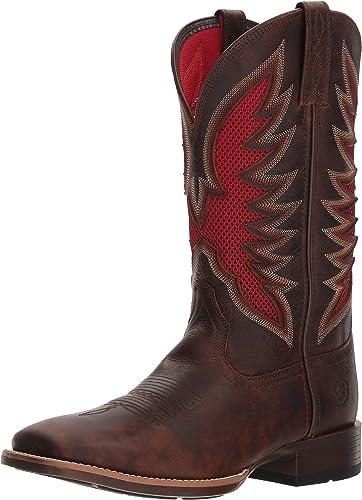 Ariat - Chaussures Venttek Ultra Western Western Western Western Hommes, 46 W EU, Barley marron a11
