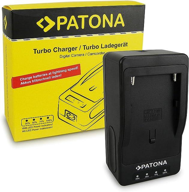 PATONA Turbo Cargador para NP-F970 NP-F960 NP-F550 Batería Compatible con Sony Camaras Yongnuo Neewer luz de Video o Monitor